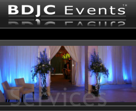 BDJC Events Event Lighting, Décor & Theming Services