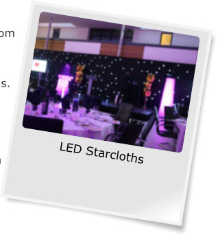 LED Starcloths